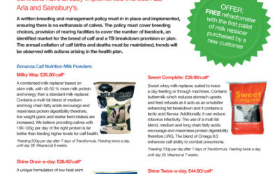 Newsletter – Calf Nutrition March 2021